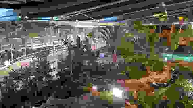 Biodomo. Parque de las Ciencias. Granada. by GreenerLand. Arquitectura Paisajista y Tematización Tropical