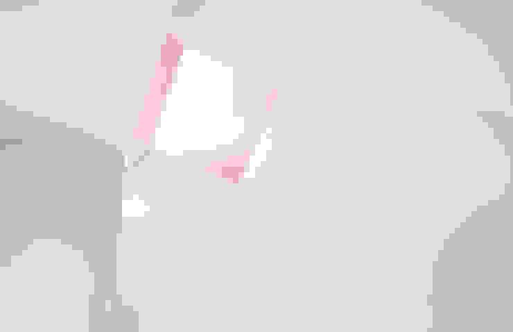 Escalera Pasillos, vestíbulos y escaleras minimalistas de Estudio Volante Minimalista