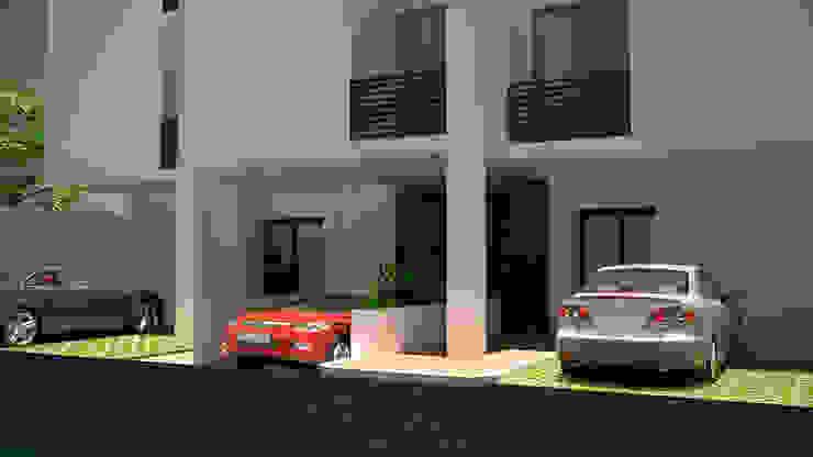 現代房屋設計點子、靈感 & 圖片 根據 M4X 現代風