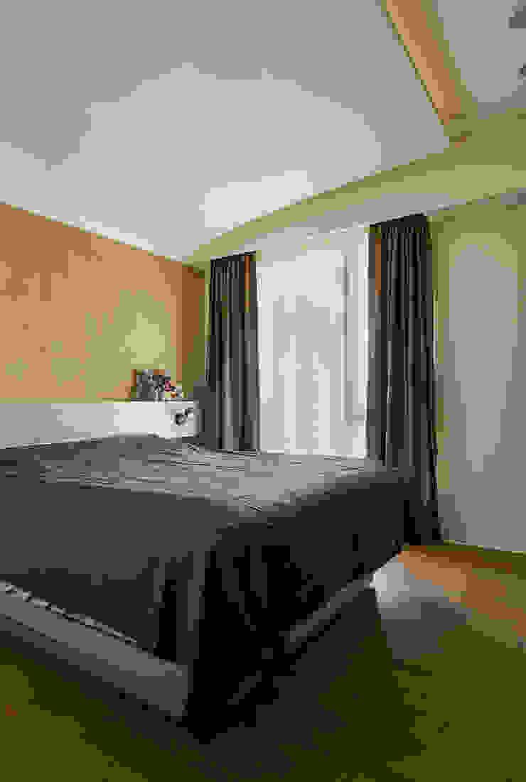 雙色珪藻土凸顯牆面豐富層次感 根據 青瓷設計工程有限公司 現代風