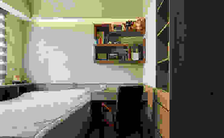 小孩房強調收納機能與健康訴求 根據 青瓷設計工程有限公司 現代風