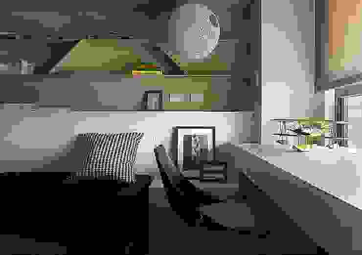成就一輩子的夢想:  臥室 by 禾光室內裝修設計 ─ Her Guang Design, 現代風