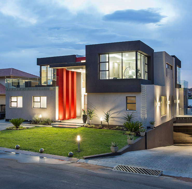 Ultra modern :  Houses by FRANCOIS MARAIS ARCHITECTS, Modern