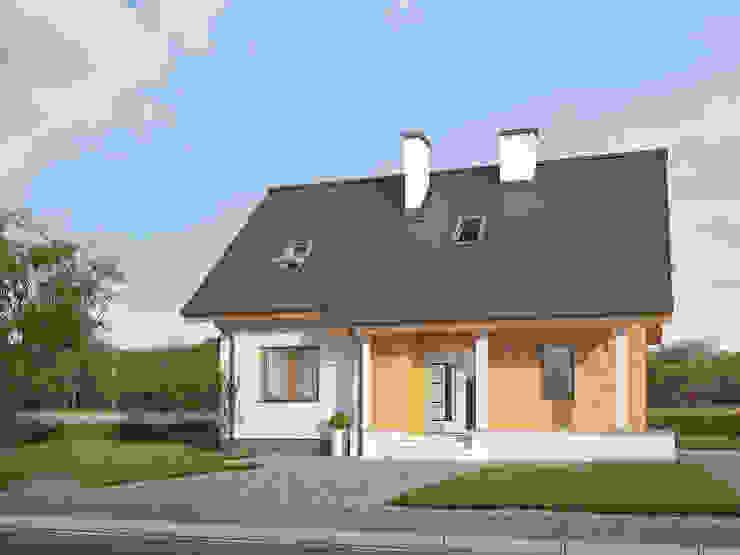 โดย Biuro Projektów MTM Styl - domywstylu.pl โมเดิร์น
