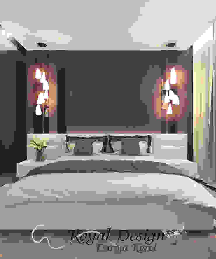 Your royal design Minimalist bedroom Brown