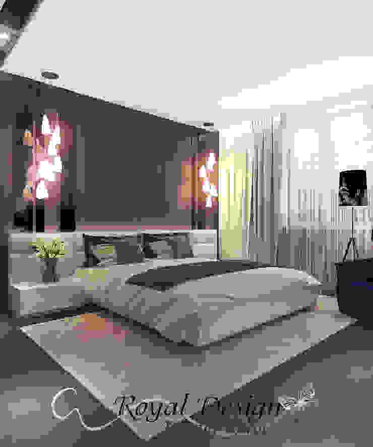 Your royal design Minimalist bedroom Wood effect
