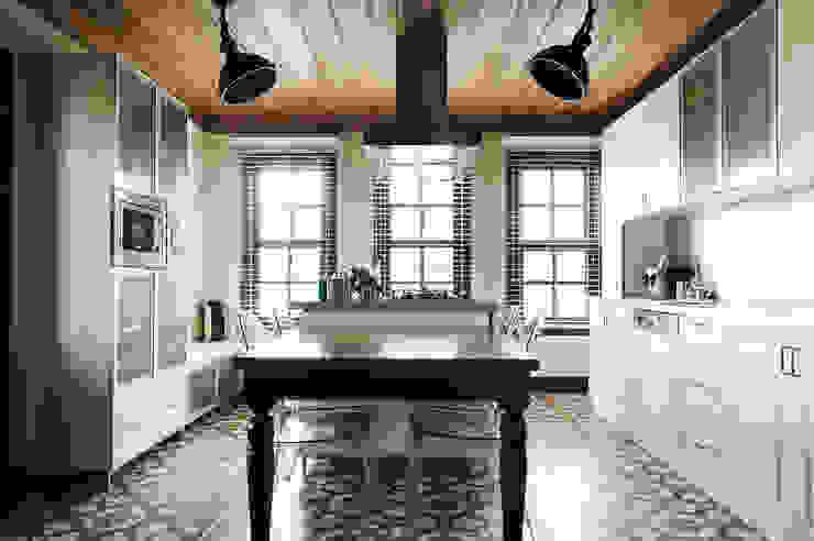 Aslı& Şamil Keser konut Modern Mutfak Bilgece Tasarım Modern