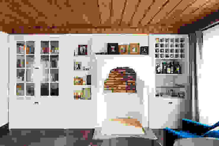 Aslı& Şamil Keser konut Modern Oturma Odası Bilgece Tasarım Modern