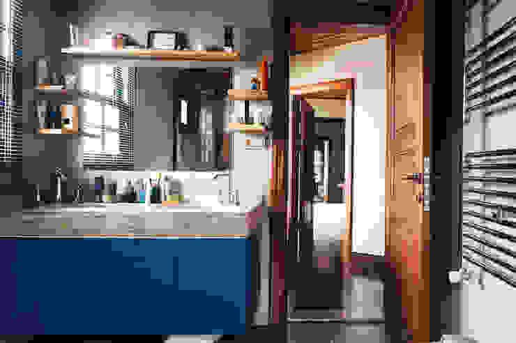 Aslı& Şamil Keser konut Modern Banyo Bilgece Tasarım Modern