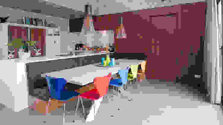 Cocinas modernas: Ideas, imágenes y decoración de ARCHITECTUURBUREAU project.DWG Moderno