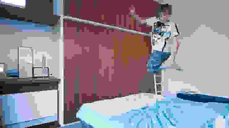 Dormitorios modernos: Ideas, imágenes y decoración de ARCHITECTUURBUREAU project.DWG Moderno