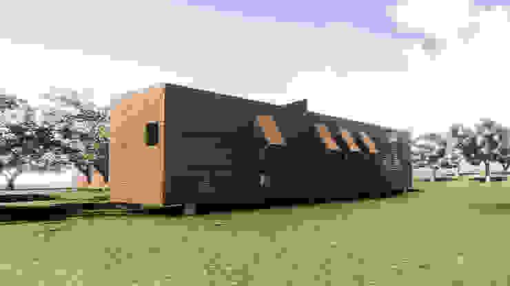 Maisons rurales par Arquitectura AG Rural Bois Effet bois