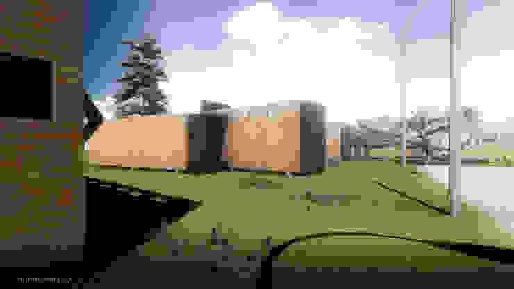 Arquitectura AG Casas de estilo rural Madera