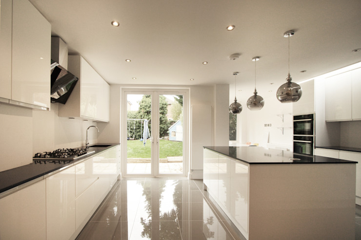Residential Refurbishment in Edgware Modern Kitchen by RS Architects Modern