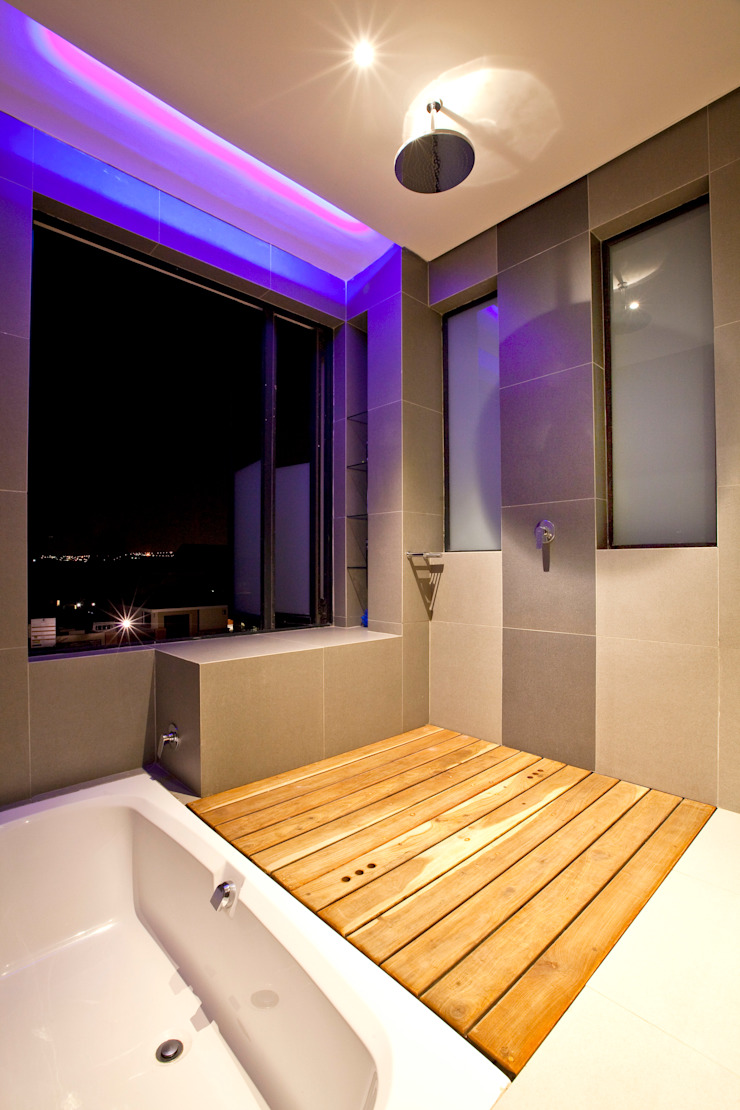 Modern Bathroom by Architects Of Justice Modern