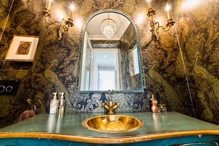 Saffraan Ave Eclectic style bathroom by House Couture Interior Design Studio Eclectic