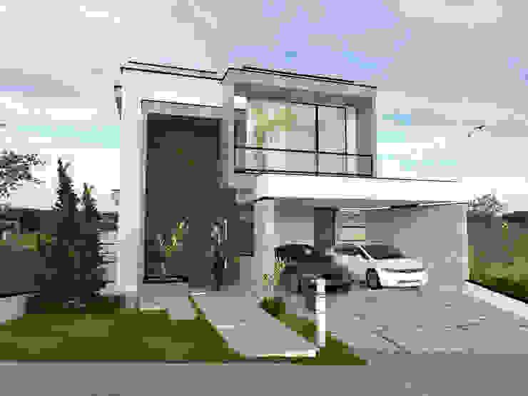 Residência - E & O projetos26 Casas modernas