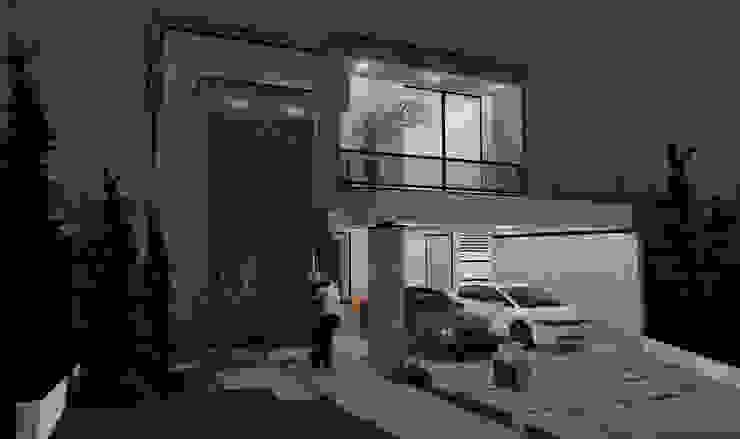 Casas modernas de projetos26 Moderno