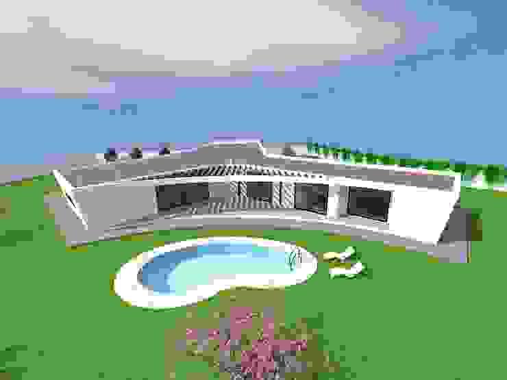 """Vivenda Unifamiliar """"AMAR"""" Casas modernas por Traço M - Arquitectura Moderno"""