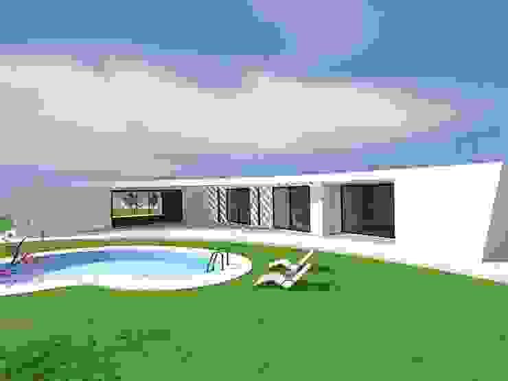 Vivenda Unifamiliar <q>AMAR</q> Casas modernas por Traço M - Arquitectura Moderno