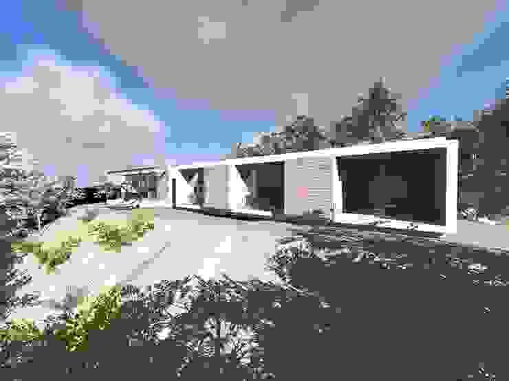 Vivenda Unifamiliar <q>RT</q> Casas modernas por Traço M - Arquitectura Moderno