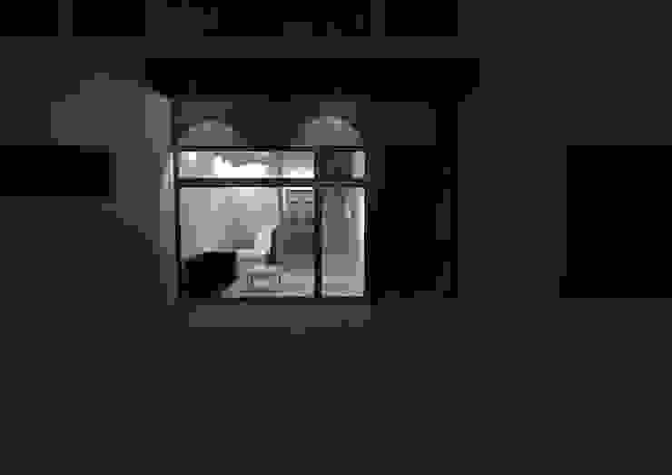 Recepção Empresa de Calçado Casas minimalistas por Traço M - Arquitectura Minimalista