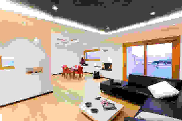 Modern Oturma Odası SANSON ARCHITETTI Modern