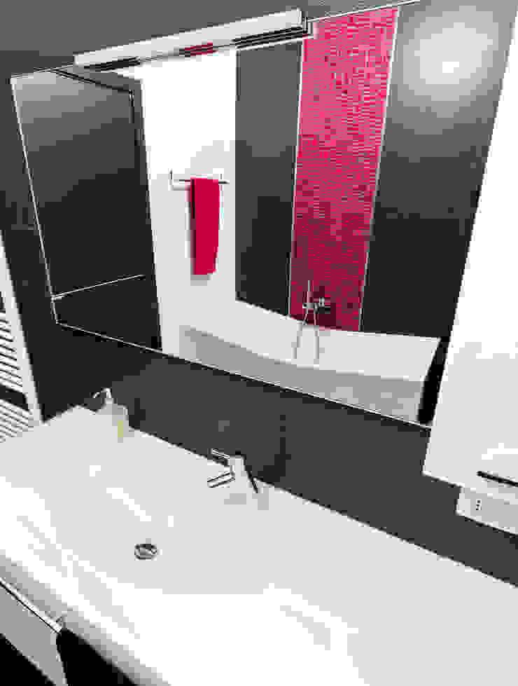 Modern Bathroom by SANSON ARCHITETTI Modern