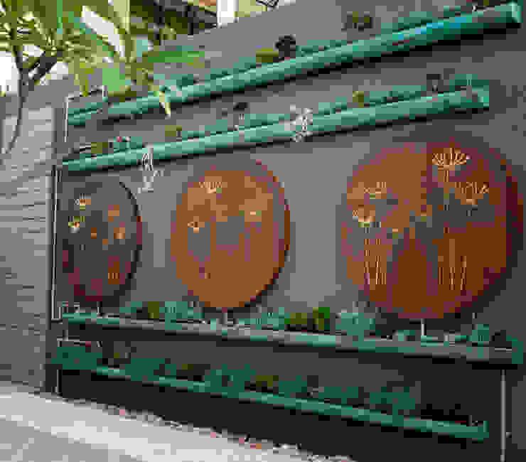 Jardin moderne par abelia peyzaj Moderne