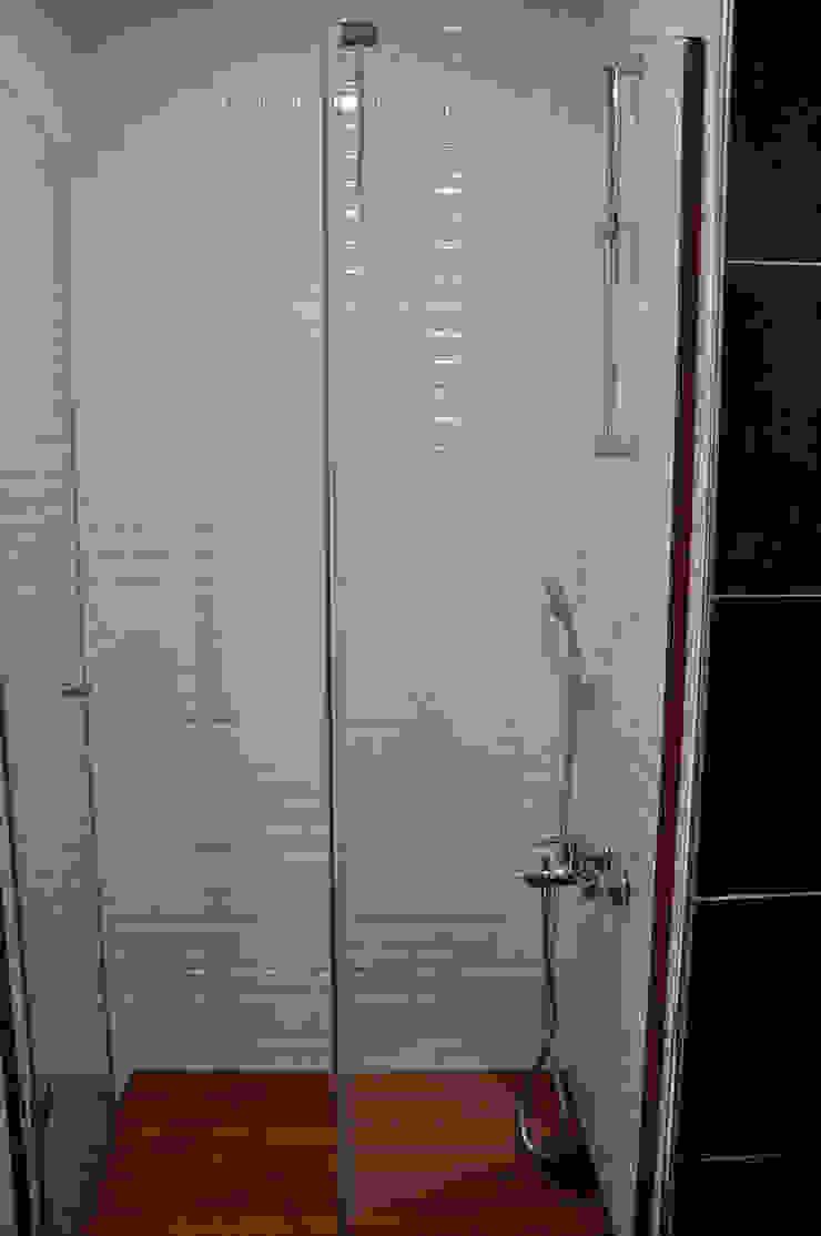 Sinpaş Ege Boyu 1+1 Daire Tadilat Projesi Modern Banyo Mandalin Dizayn Modern