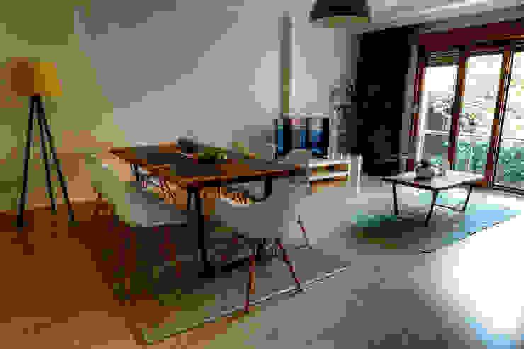 Nişantaşı Kıvanç Sokak 2+1 Daire Projesi Minimalist Oturma Odası Mandalin Dizayn Minimalist