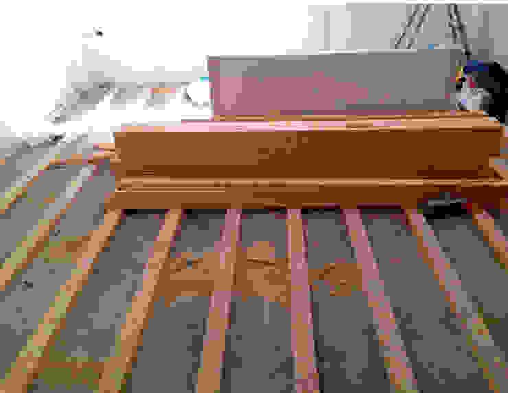 Kuzguncuk Yuvam Apt. Komple Tadilat Projesi Modern Oturma Odası Mandalin Dizayn Modern