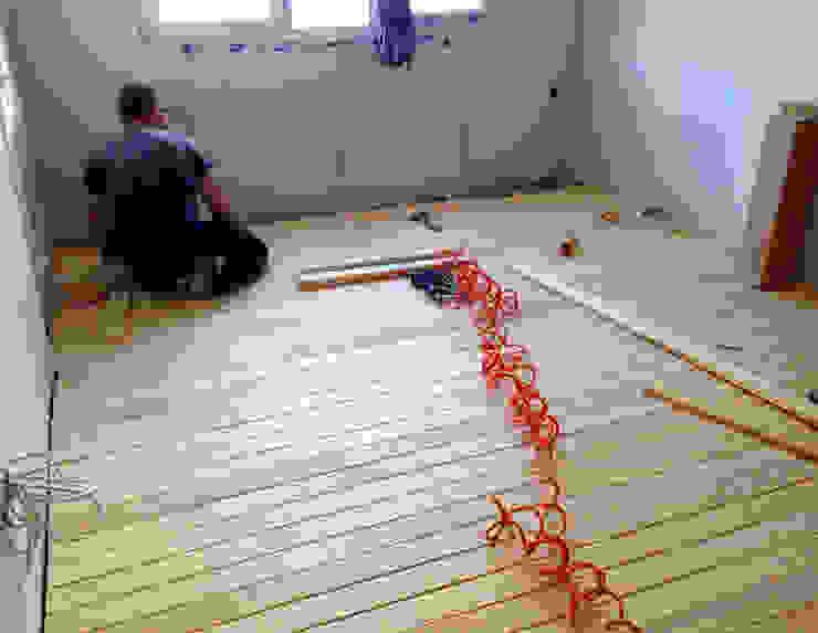 Kuzguncuk Yuvam Apt. Komple Tadilat Projesi Modern Yatak Odası Mandalin Dizayn Modern