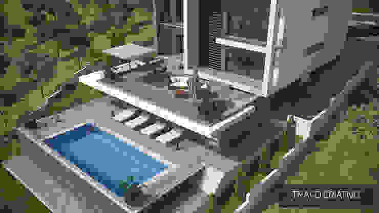 Modern houses by Traço Criativo, Arquitetura, Planeamento e Design, Lda Modern