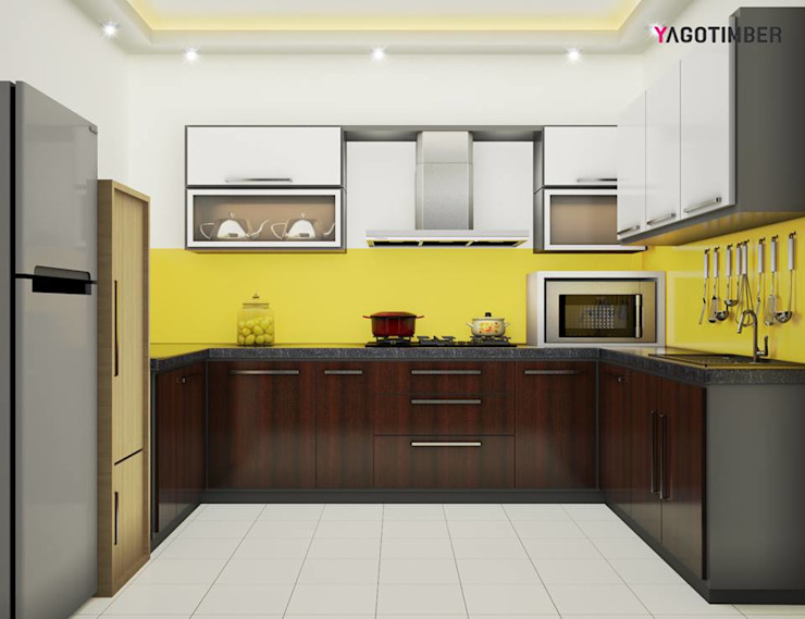 Yagotimber's Modular Kitchen Design 3 Modern kitchen by Yagotimber.com Modern