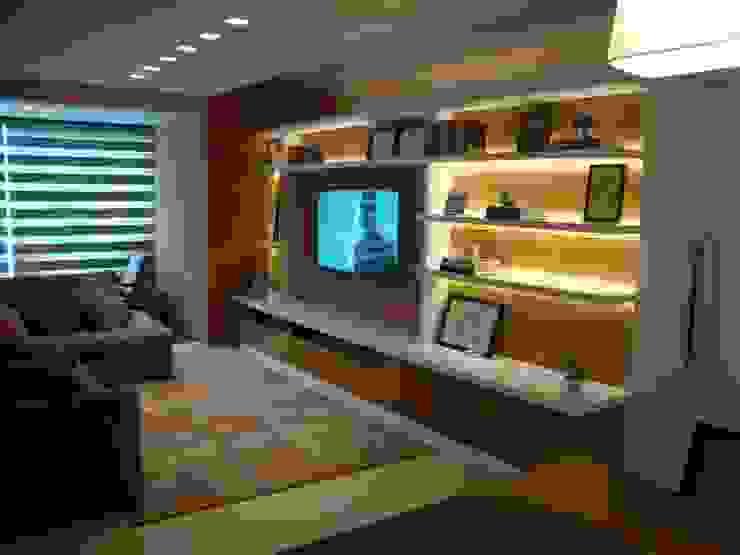 Living room by Geraldo Brognoli Ludwich Arquitetura, Modern