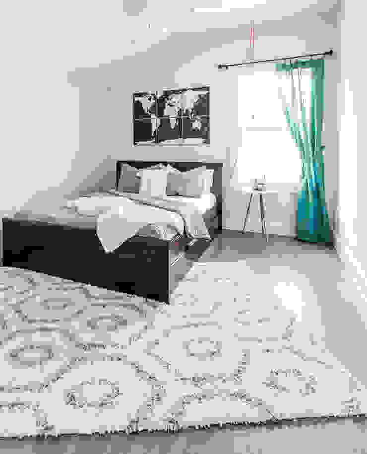 Urban Retreat Modern Bedroom by Brett Nicole Interiors Modern