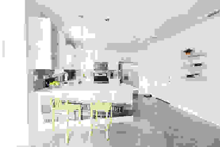 Urban Retreat Modern Kitchen by Brett Nicole Interiors Modern