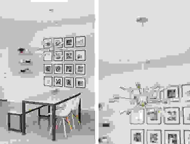 Urban Retreat Modern Dining Room by Brett Nicole Interiors Modern
