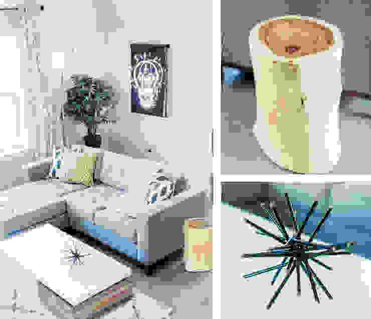 Urban Retreat Modern Living Room by Brett Nicole Interiors Modern