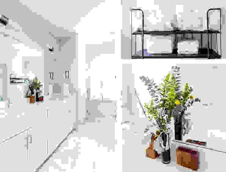 Urban Retreat Modern Bathroom by Brett Nicole Interiors Modern
