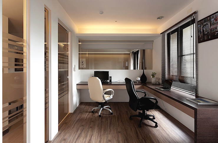 Modern style study/office by 禾光室內裝修設計 ─ Her Guang Design Modern