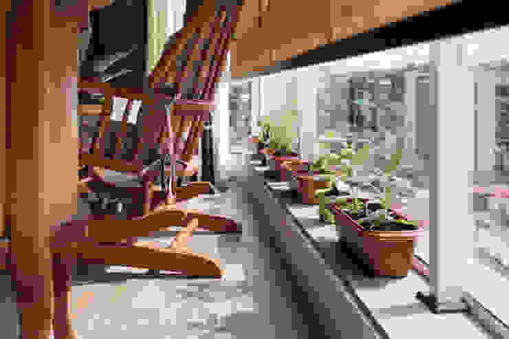 ECP | Estar Jardins minimalistas por Kali Arquitetura Minimalista