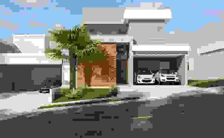 Casas estilo moderno: ideas, arquitectura e imágenes de Daniele Galante Arquitetura Moderno