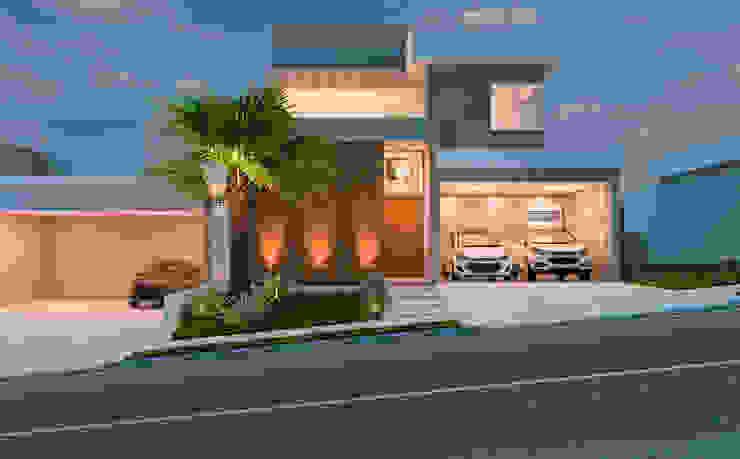 Residência A&F Casas modernas por Daniele Galante Arquitetura Moderno