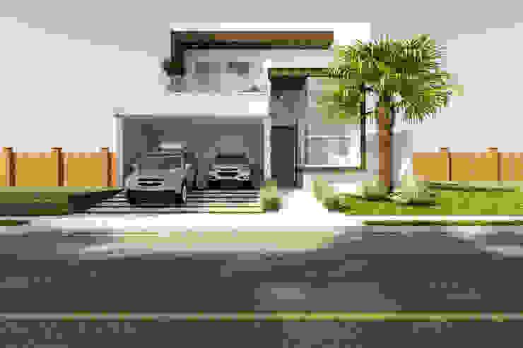 Maisons de style  par Daniele Galante Arquitetura, Moderne