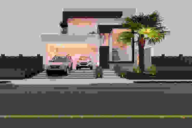 Casas de estilo  por Daniele Galante Arquitetura, Moderno