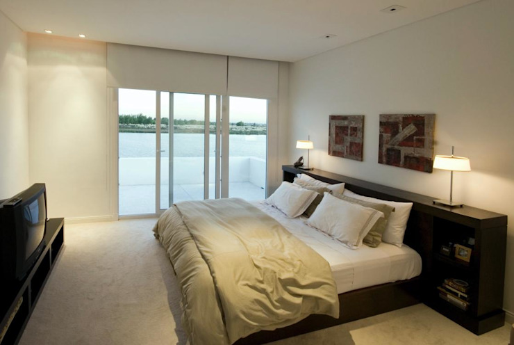 Mastersuite: Dormitorios de estilo  por CIBA ARQUITECTURA,