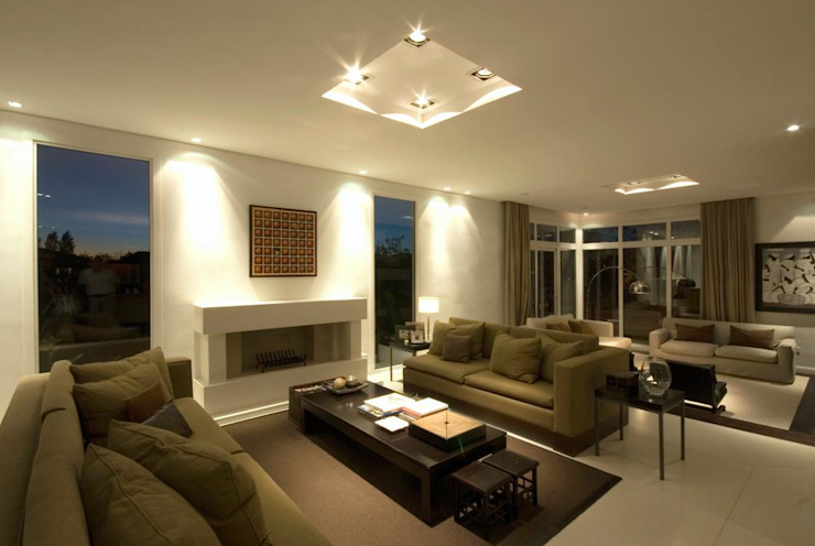 Living room by CIBA ARQUITECTURA, Modern