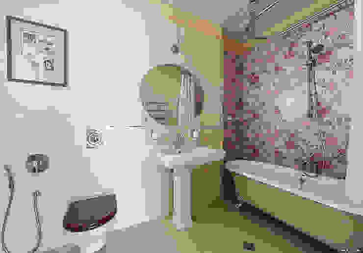 Гостевая ванная от Эдуард Григорьев (daproekt) Классический Плитка